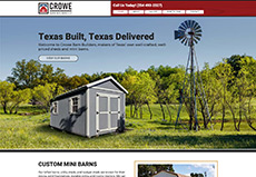 Barn Builder Website